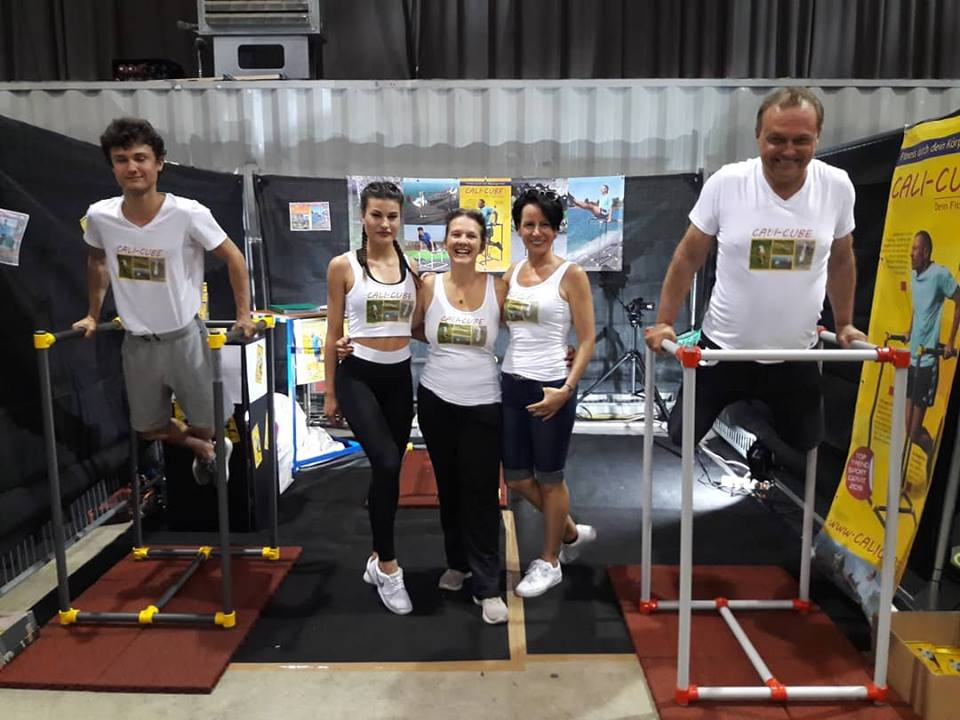 Cali-Cube das Trendsportgerät Beim Bodyweightday