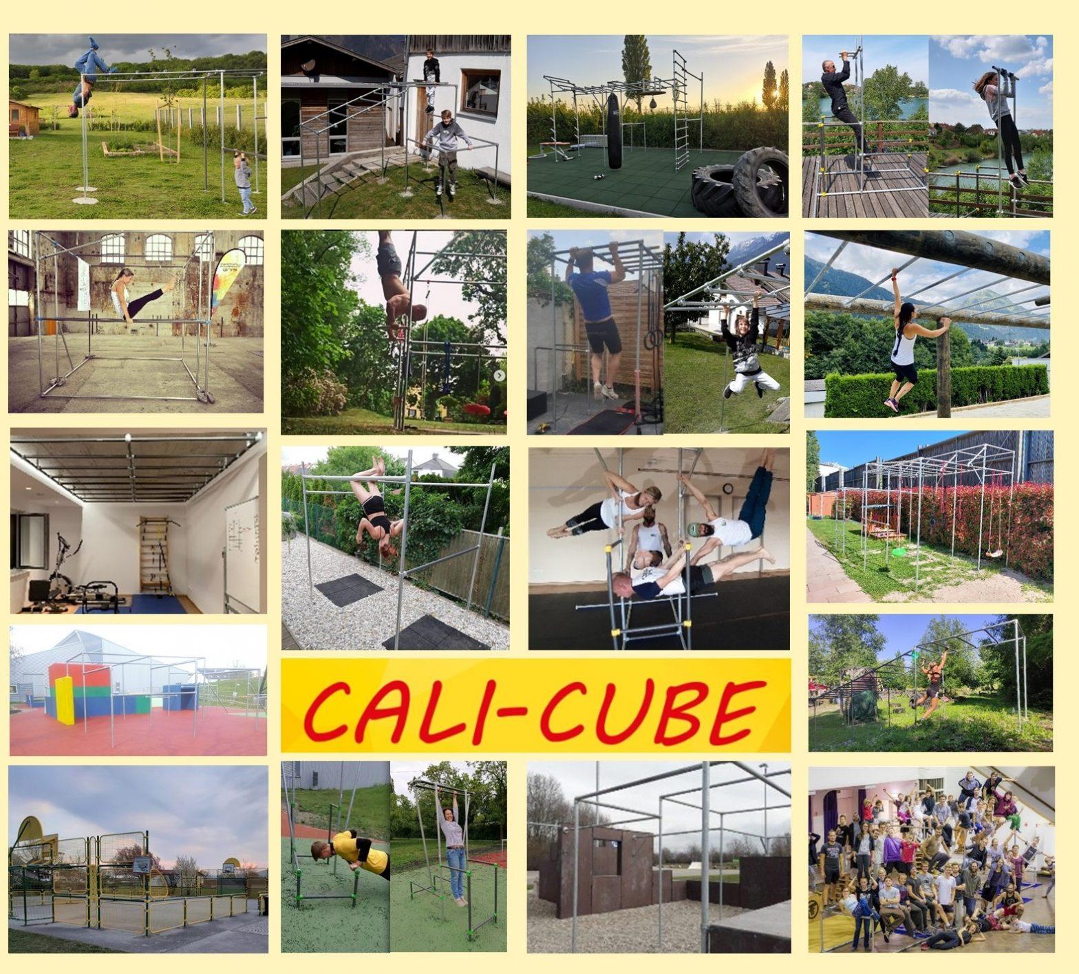 Viele verschiedene Möglichkeiten mit CALI-CUBE