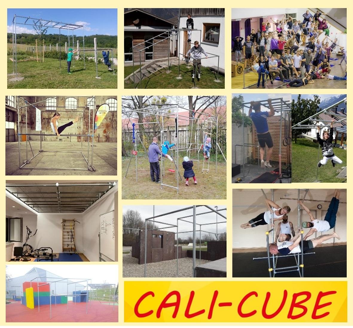 CALI-CUBE verwirklicht Fitness-Träume